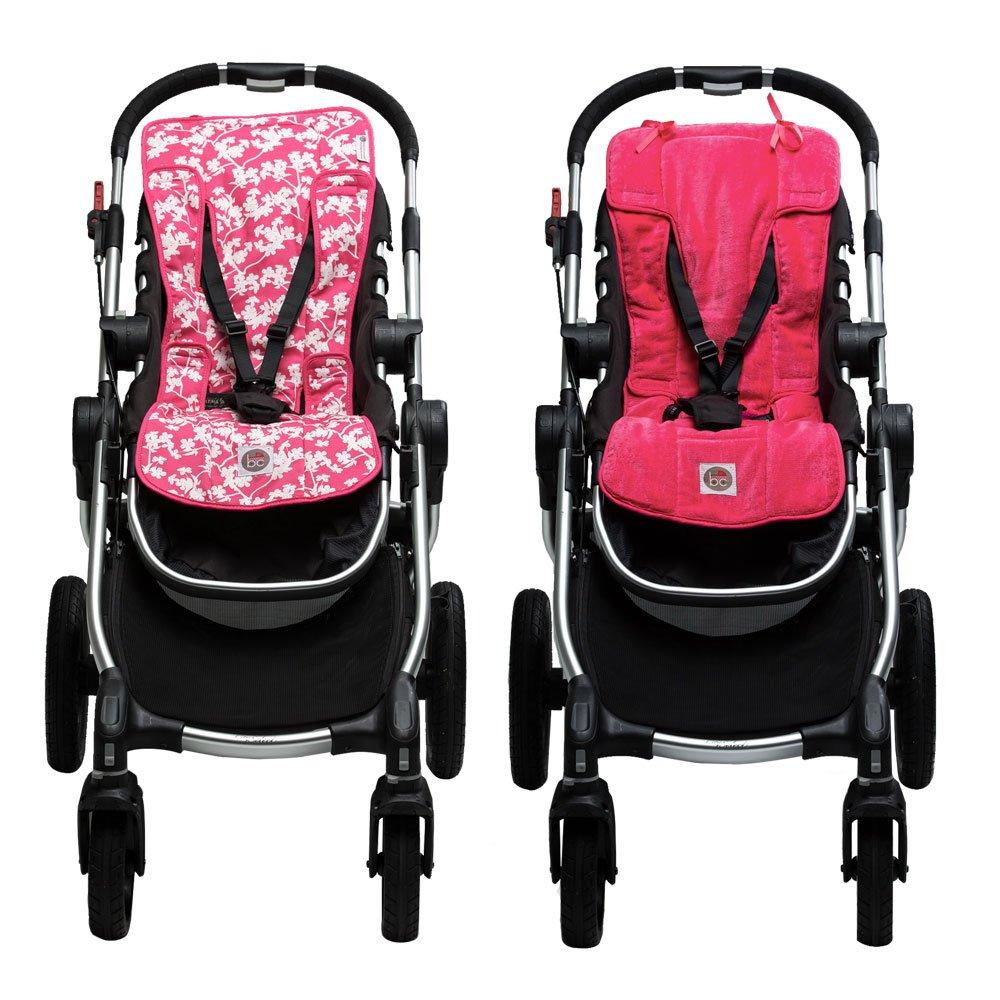 Babychic Kinderwagen 100/Prozent Baumwolle Einlage f/ür Kinderwagen Cherry Blossom