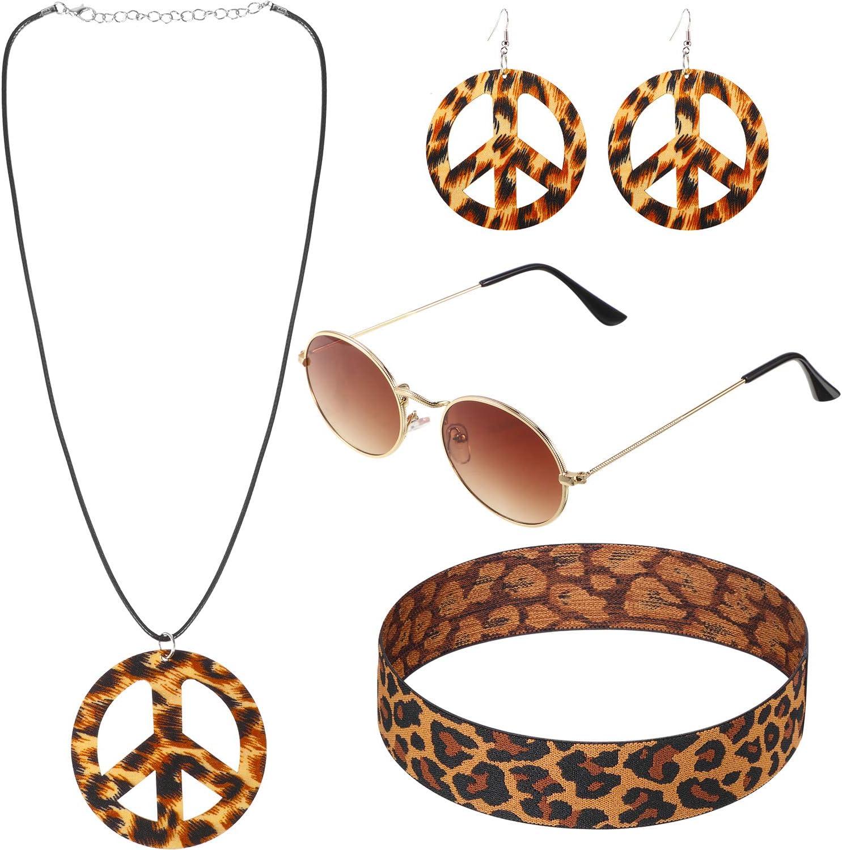 Hippie KIT Adulto Donna Smiffys Costume Accessorio