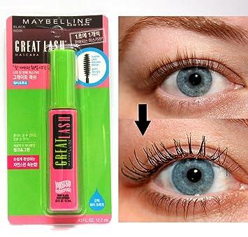 5c92aacdceb Amazon.com : Maybelline Great Lash Waterproof Mascara, Very Black [111],  0.43 oz (Pack of 5) : Beauty