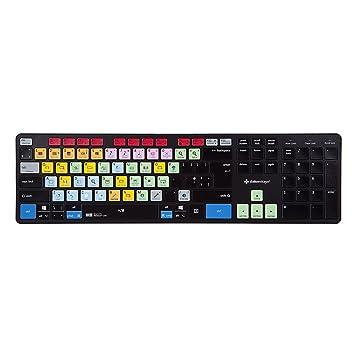 Editores Teclas Ableton Live Teclado | Slimline para atajos de teclado para PC Mac: Amazon.es: Electrónica
