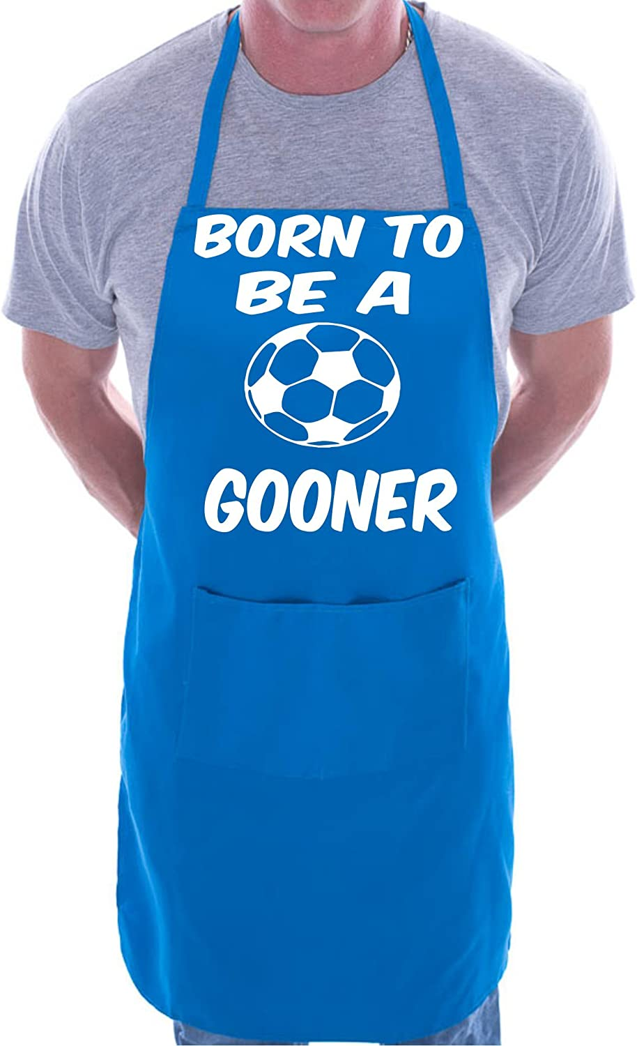 Born To Be A Gooner Arsenal Cooking Novelty Apron