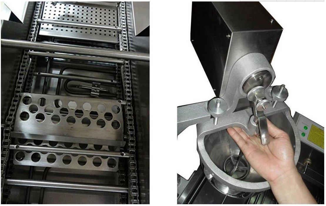 Amazon.com: 18L automático Donut Comercial Freidora ...