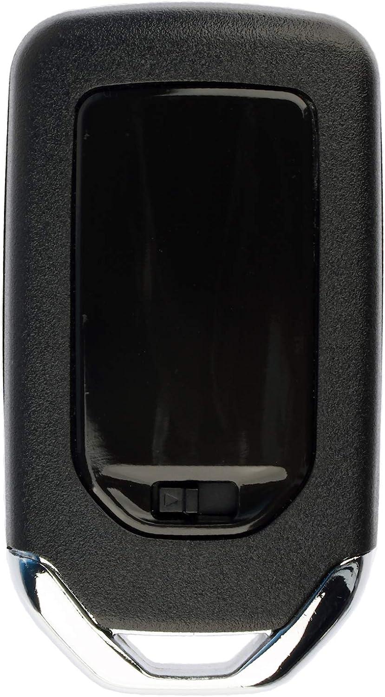 KeylessOption Keyless Entry Remote Smart Car Key Fob for Honda Fit 15 16 17 KR5V1X