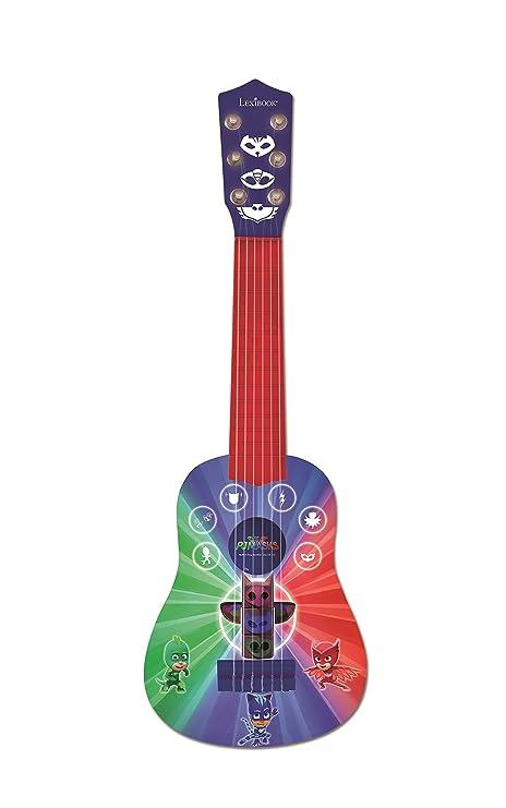 Pj Mask Pijamasks-Mi Primera Guitarra, 6 Cuerdas, 53 cm, a Partir