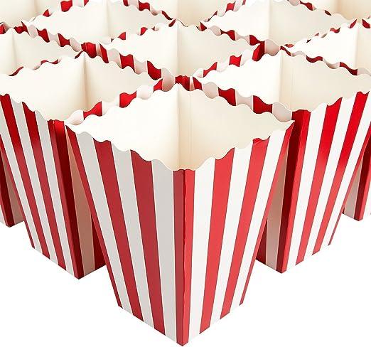 Juego de 100 cajas de regalo de palomitas de maíz, ideales para ...