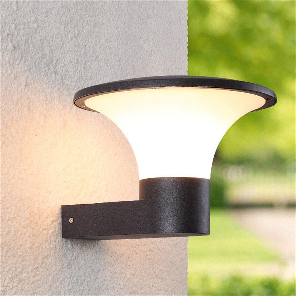 Lampada da parete per esterni Lampada da giardino impermeabile Lampada da porta semplice creativa per porta da balcone