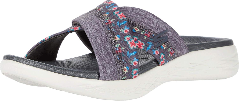 Skechers Women S On The Go 600 140038 Slide Sandal Amazon Ca Shoes Handbags