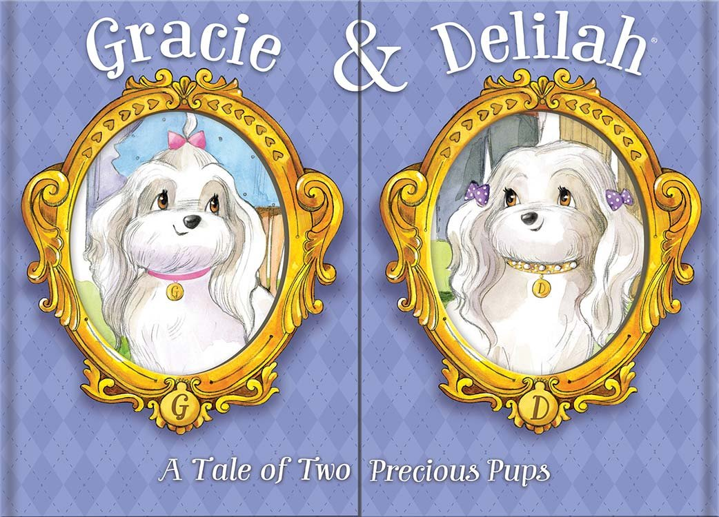 Bendon Gracie & Deviolah  A Tale of Two Precious Pups Book