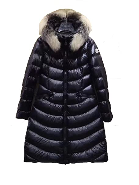 0542a1cb20e Moncler Hermine Hooded Puffer Jacket, Black, Women's (4): Amazon.ca ...