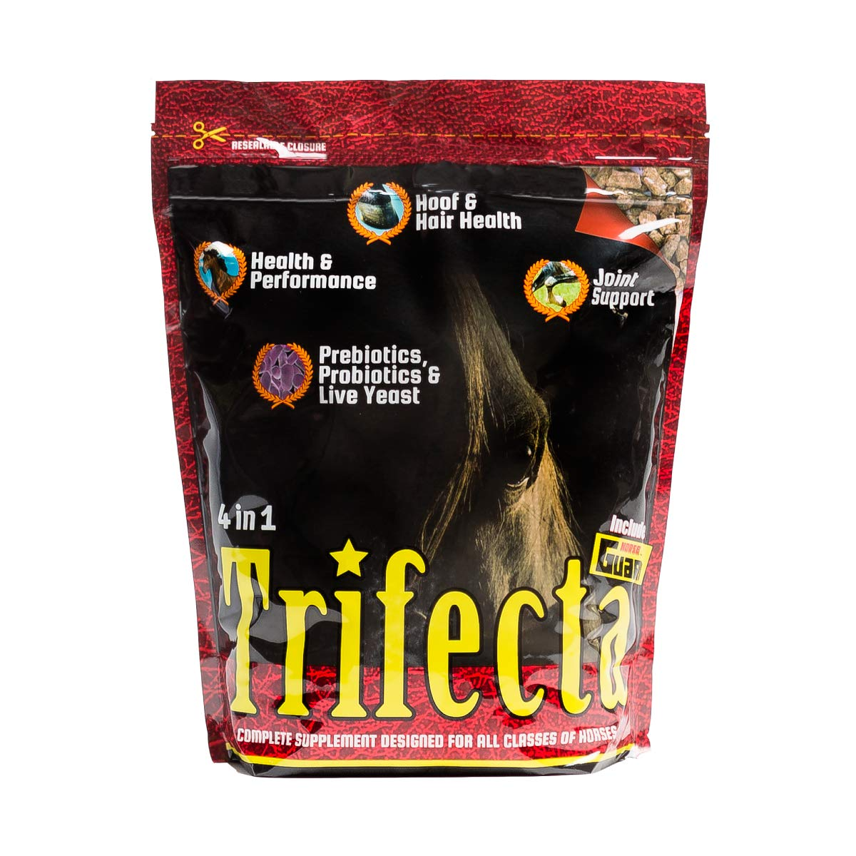 Horse Guard Trifecta Equine Vitamin Mineral Joint Hoof & Probiotic Supplement, 10 lb by Horse Guard