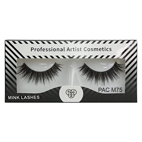7819b057d07 Buy PAC Mink Eye Lashes - M75 1 Pcs Online at Low Prices in India ...