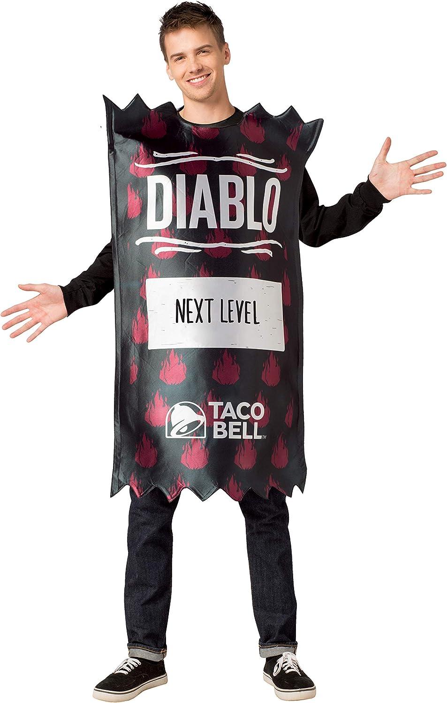 RASTA IMPOSTA Taco Bell Diablo Packet Costume