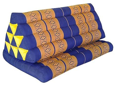 Cojín Thai triangular XXL, con asiento 1 pli, sofá, ocio ...