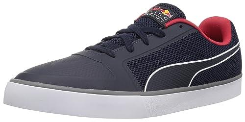 Migración Comerciante Calvo  Buy PUMA Men's Red Bull Racing Wings Vulc Sneaker at Amazon.in