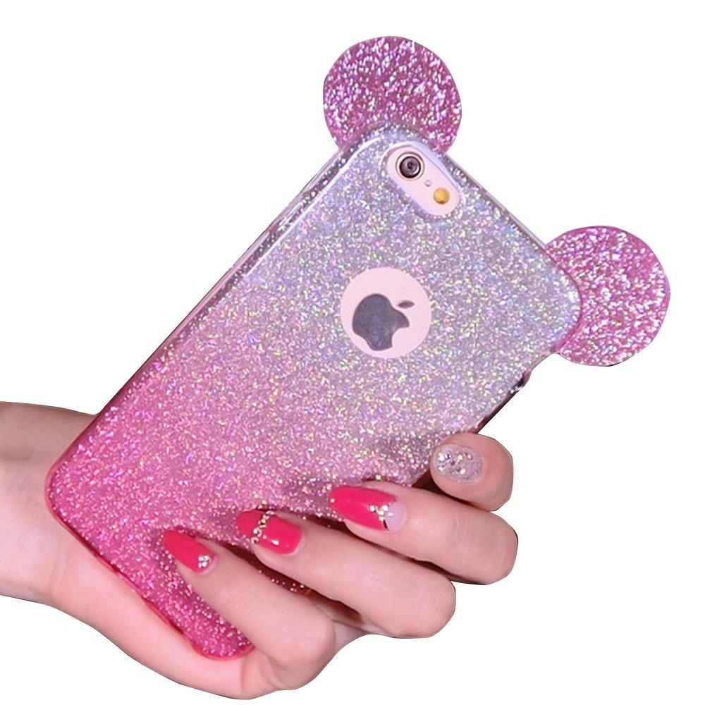 coque iphone 6 avec les oreilles de mickey