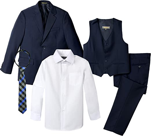 Spring Notion Big Boys Two-Button Suit Set