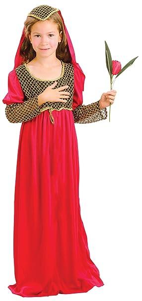Juliet Bristol Novelty CC961 Traje, Pequeño, Edad Aprox 3 -5 años