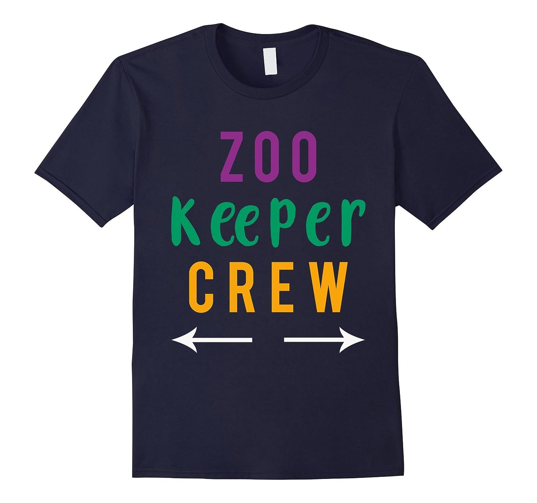Zoo Keeper Shirt- Zoo Keeper Crew Tee-FL