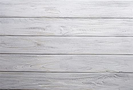 Charmant LFEEY 10x8ft Rustic Wood Plank Backdrop Chothes Products White Painted  Vintage Panel Wooden Board Wall Photography