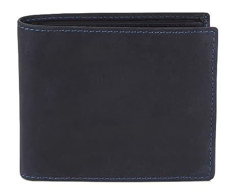 """8878b949e5 Visconti portafoglio di pelle da uomo a piegatura tripla""""Hunter""""  olio Wallet (701"""