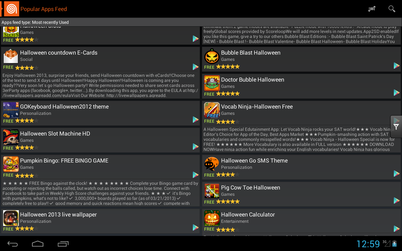 amazoncom halloween apps trick or treat appstore for android