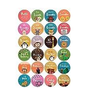 Baby Monthly Milestone Stickers Boy & Girl Onesie Memory Stickers 24 Pack Birth to 12 Months + 12 Bonus Achievement Unisex Month in Motion Stickers & Holidays - baby Gift Scrapbook First Year Keepsake