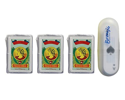 Don Clemente Mexican Playing Cards. Set de Baraja Espanola/Mexicana & Naipes de Poker. 4 Pack of Barajas.