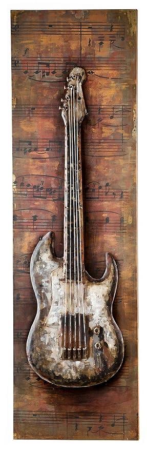 Gilde Handwerk E Guitare Electric Guitar Tableau 38638 Décoration