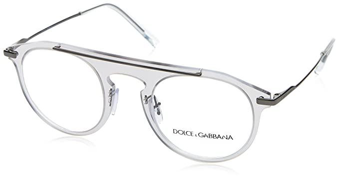 ac56c83a6373 Image Unavailable. Image not available for. Color  Eyeglasses Dolce   Gabbana  DG 1291 04 CLEAR