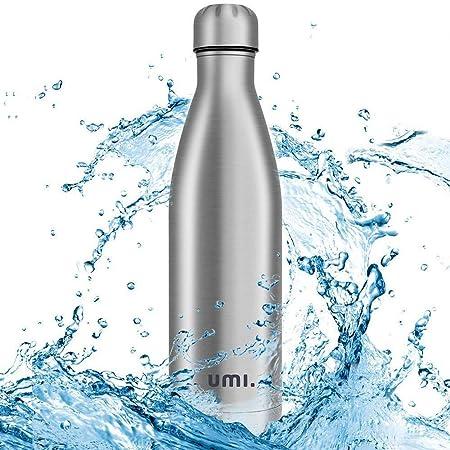 Umi. by Amazon - Botella Agua Acero Inoxidable, Termo 750ml, Sin ...