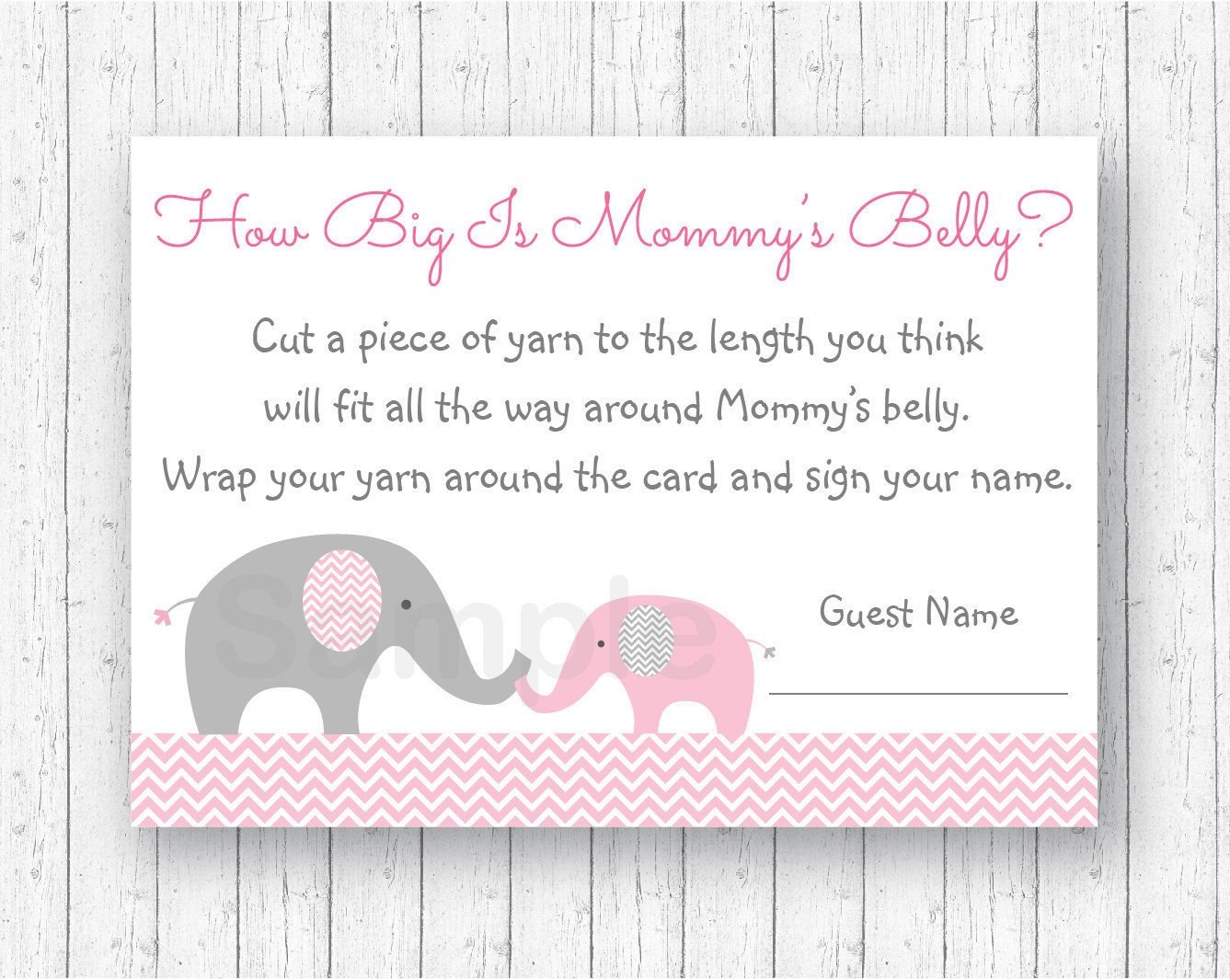 Amazon Pink Chevron Elephant How Big Is Mommys Belly Baby