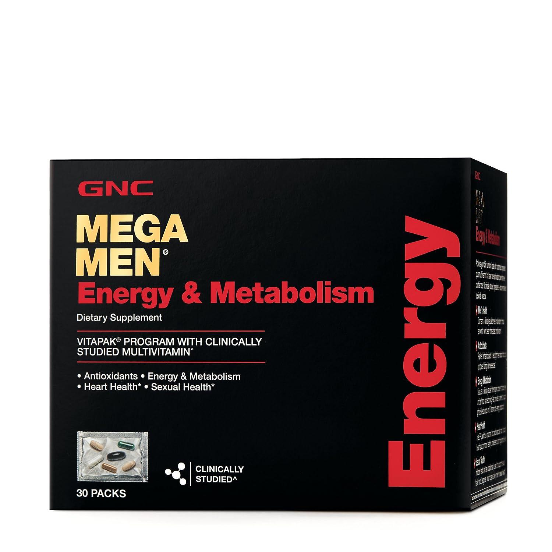 GNC Mega Men Energy Metabolism California Only, 30 Packets