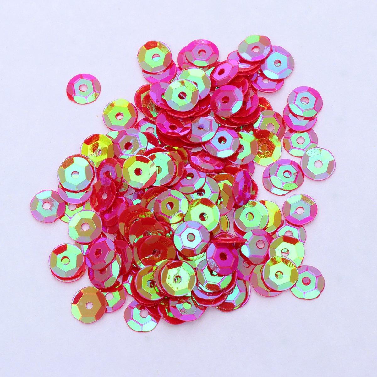 rosenice lentejuelas manualidades purpurina Multicolor para artesan/ía bricolaje decoraci/ón 14/colores
