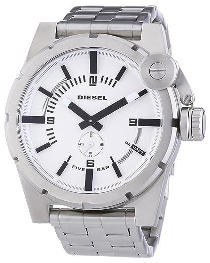 Diesel Reloj Analógico para Hombre de Cuarzo con Correa en Acero Inoxidable 4051432524905: Amazon.es: Relojes