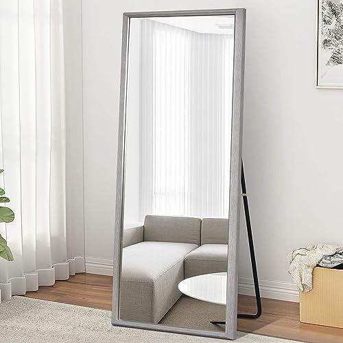 MIRRORTECH Full Length Mirror Grey 65″ x 22″ Floor Mirror