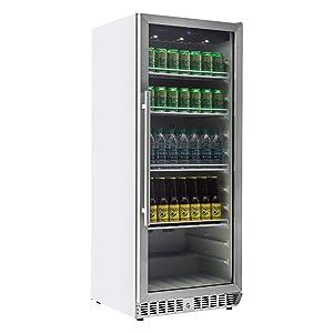 EdgeStar VBR440 11.2 Cu. Ft. Built-In Commercial Beverage Merchandiser