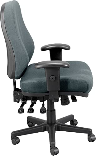 Eurotech Seating 24/7 Swivel Charcoal Chair