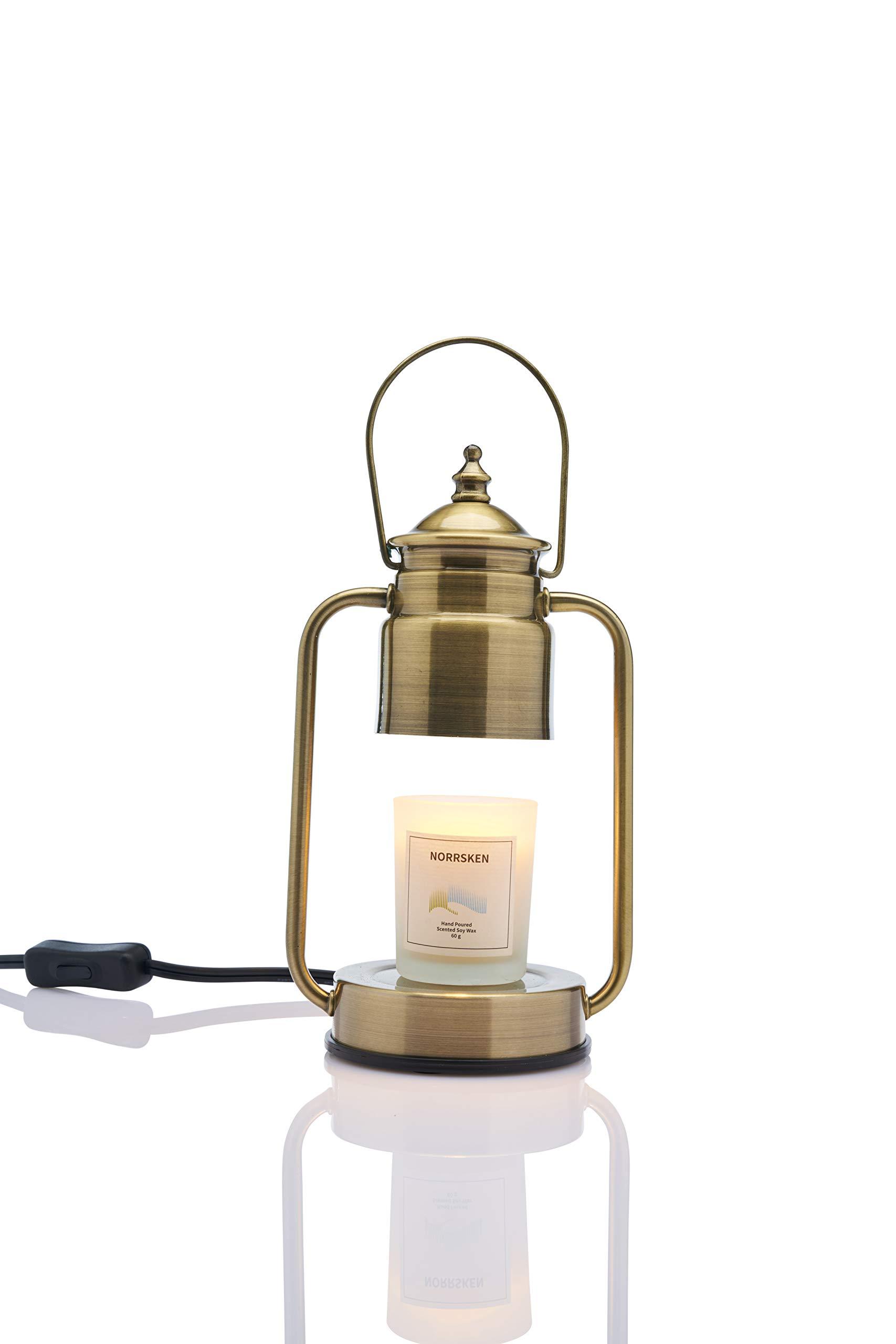 Vana Candles Candle Warmer Ljusvärmare Lykta Mini Vintage Lamp Lantern Swedish Design - Brushed Metal Gold