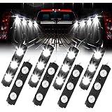 AAIWA Truck Bed Lights, LED Rock Light for Truck Pickup Bed, 24 LEDs Off Road Under Car, Side Marker LED Rock Lighting…