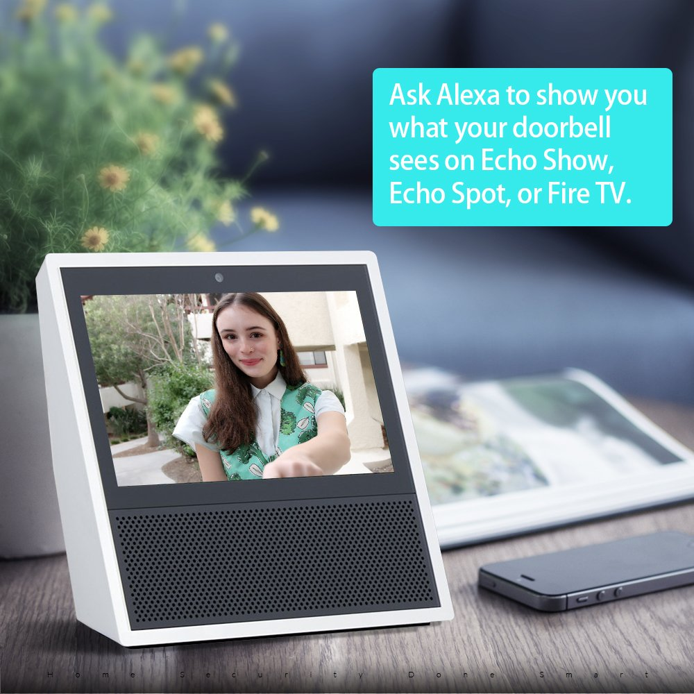 Belle A.I. WiFi HD Video Doorbell with Facial Recognition, Voice ...