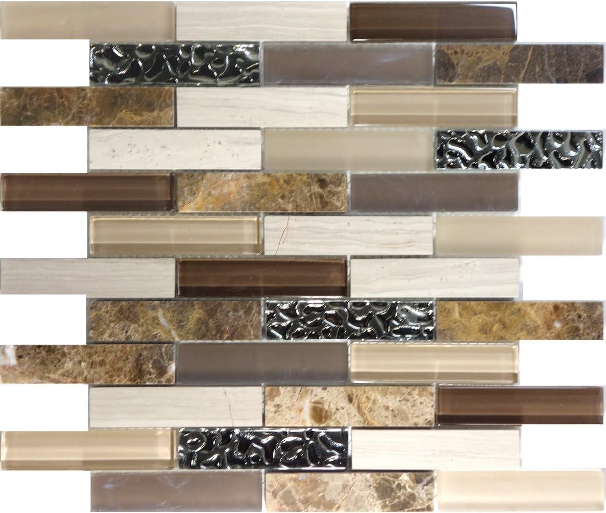 - Modket TDH116MO Emperador White Oak Marble Blend Metallic Silver