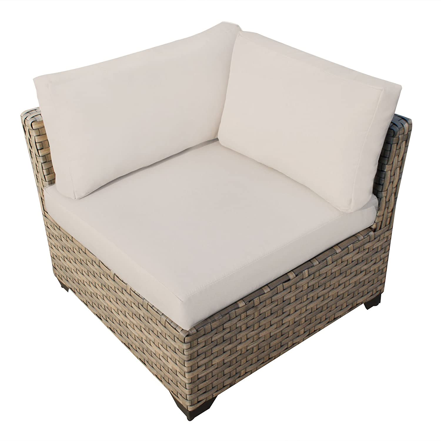 Amazon.com: Hampton 6 Piece Outdoor Wicker Patio Furniture Set 06b: Patio,  Lawn U0026 Garden