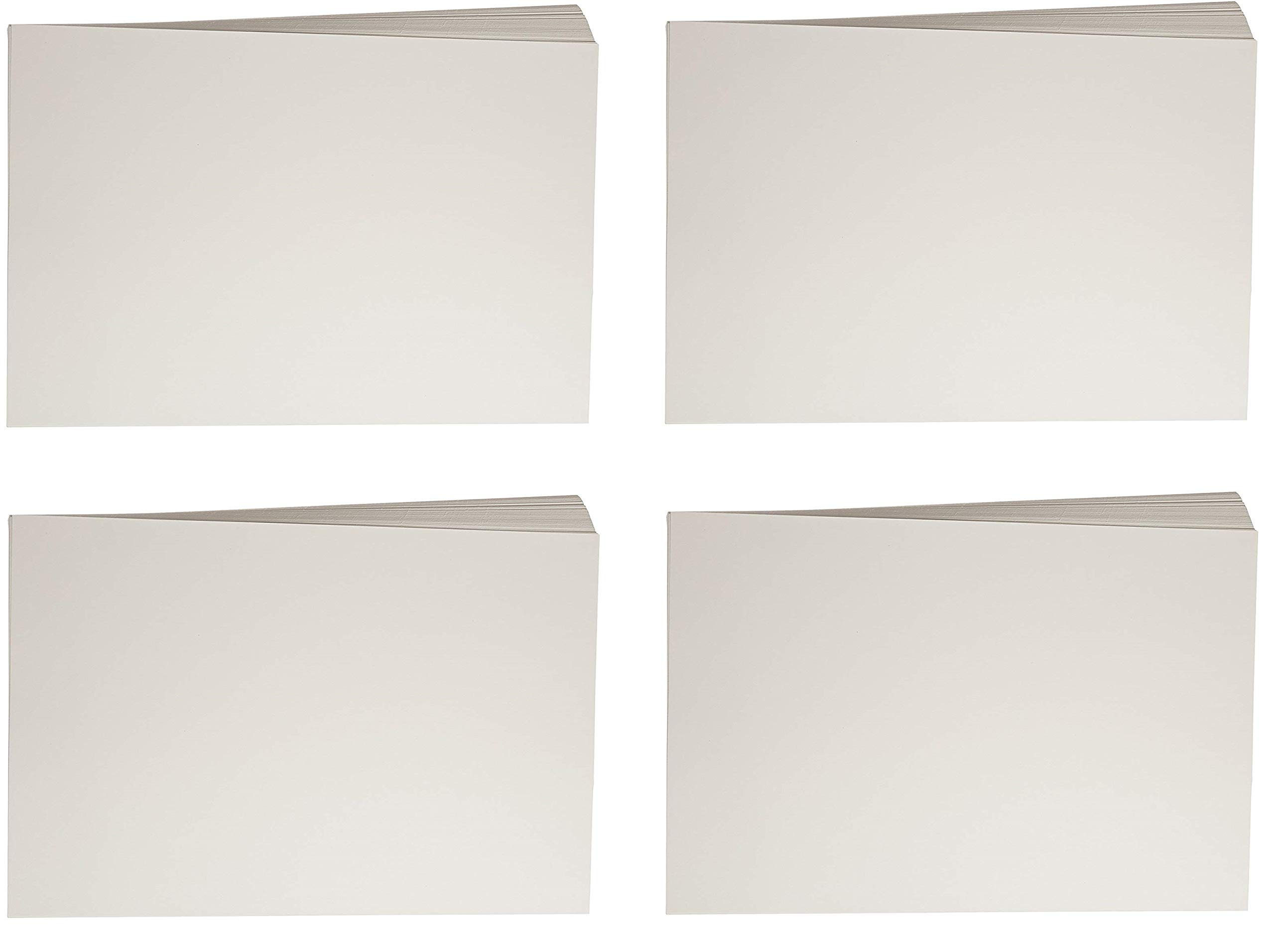 Sax Watercolor Beginner Paper, 90 lbs, 12 x 18 Inches, Natural White, Pack of 100 (4 X Pack of 100)