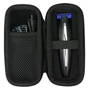 Khanka Hard Travel Case Replacement for Micro Touch SOLO Full Body Trimmer and Shaver (without sponge)