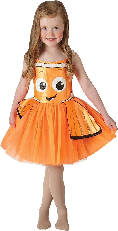 Hasbro-Buscando a Nemo - Disfraz Nemo Tutu Classic, talla XS ...