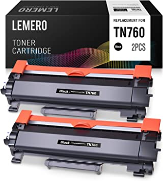 NO CHIP New TN760 for Brother TN730 MFC-L2710DW HL-L2350DW Toner Cartridge Lot