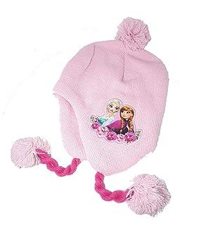 Disney Fille Frozen Hiver Péruvien Bonnet 52-54 cm  Amazon.fr ... edb98ae6fc7
