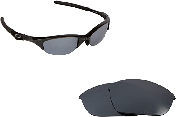 f2dfc18291f Image Unavailable. Image not available for. Color  New SEEK Replacement  Lenses Oakley HALF JACKET - Polarized Silver Mirror