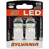 SYLVANIA - 4114 ZEVO LED White Bulb - Bright LED Bulb, Ideal for Daytime Running Lights (DRL) and Back-Up/Reverse Lights…