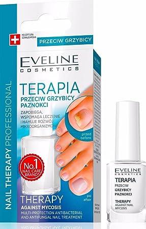 Eveline nail polish for nail fungus; feet and hands, mycosis, 12 ml ...